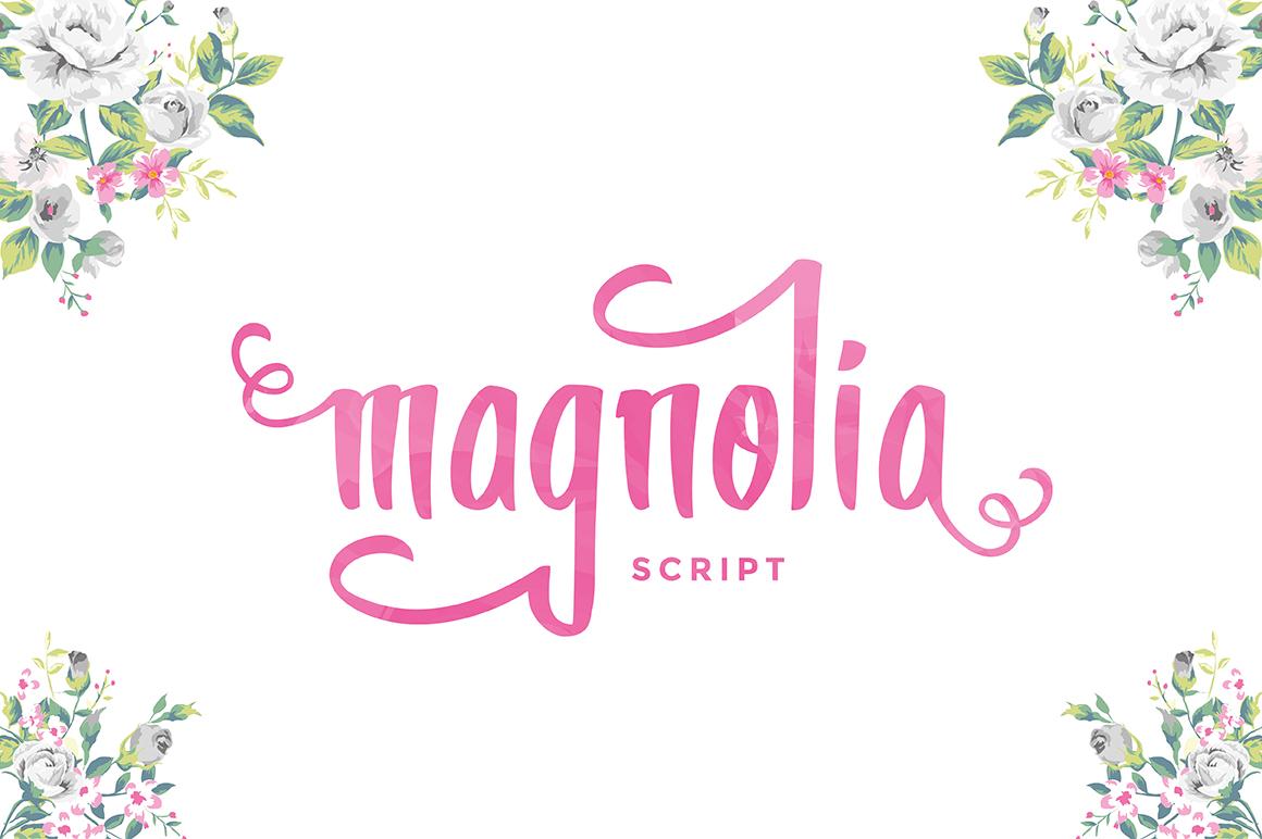Magnolia ~ Display Fonts on Creative Market