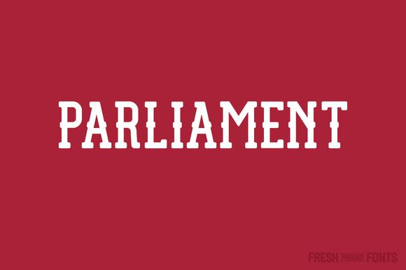 Parliament Font Download