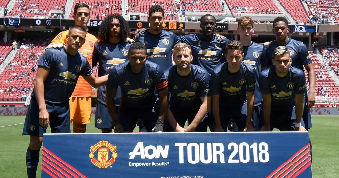 Manchester United friendly