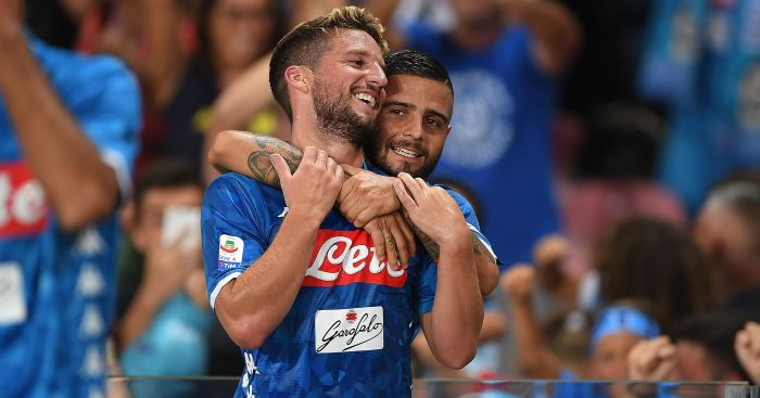 Dries Mertens; Lorenzo Insigne TEAMtalk
