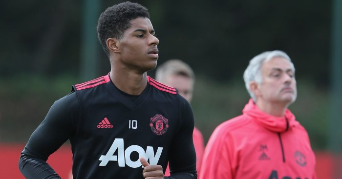 Marcus Rashford Jose Mourinho TEAMtalk