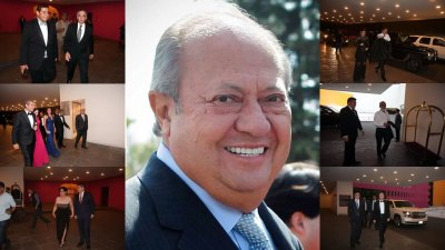 La boda de la hija de Carlos Romero Deschamps