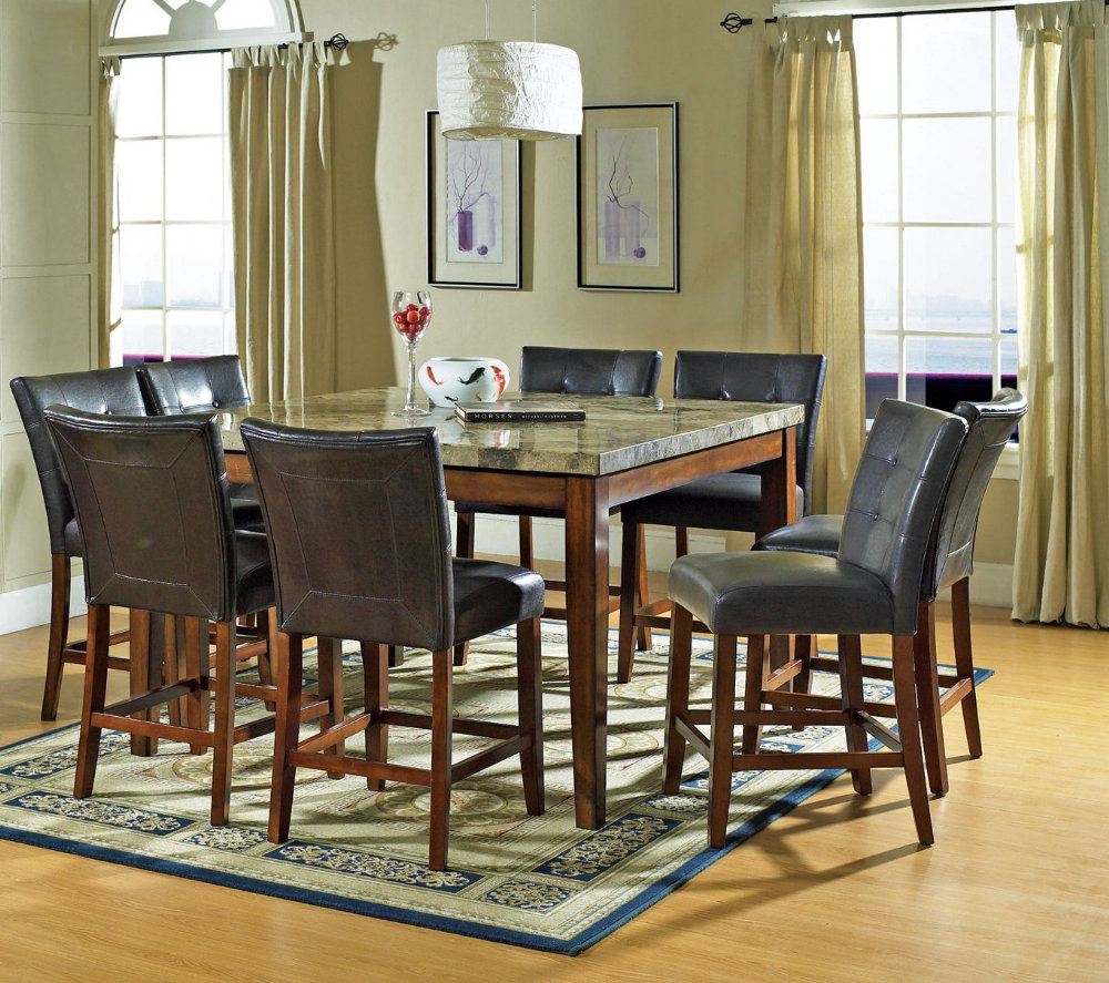 Pub height dining room sets