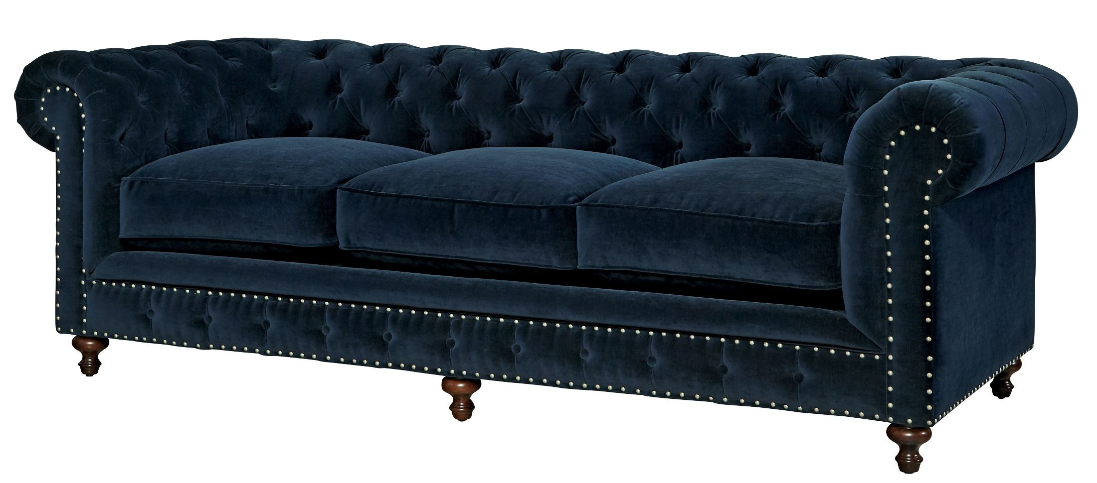 Smashing Berkeley Sumatra Blue Velvet Sofa From Universal Coleman Furniture Blue Velvet Couch West Elm Blue Velvet Couch Cover houzz 01 Blue Velvet Couch