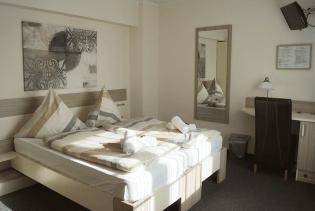 Gemütliche Doppelzimmer Hotel Amalfi
