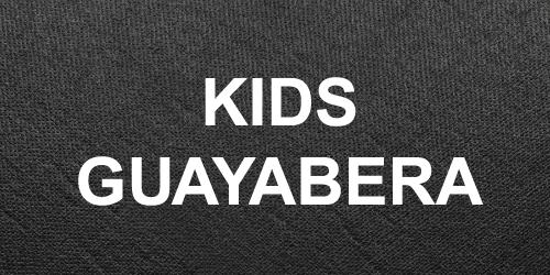 Kids Guayabera