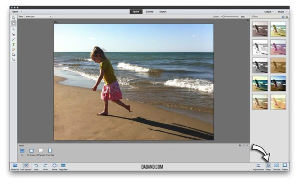 Adobe Photoshop Elements 12 Effects