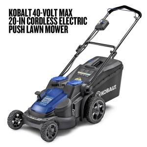 Kobalt 40-Volt Max 20-in Cordless Electric Push Lawn Mower