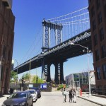 One of the coolest views in Brooklyn, of the Manhattan…