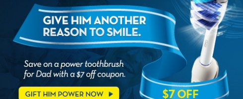 oral-b, oralb, power of dad, lifeofdadshow, parenting, humor, funny, dads, dad blogger, teeth, dental hygiene, justin bieber, parenthood, moms, dads, health, father's day