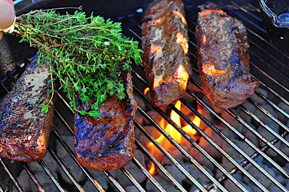 Top Sirloin Steak, Marinated and Butter Basted, Adam Perry Lang Style ...