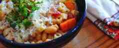 Pressure Cooker Pasta and Bean Soup (Pasta e Fagioli, AKA Pasta Fazool)