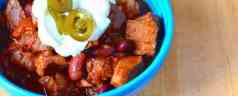 Pressure Cooker Pork Chili with Beans