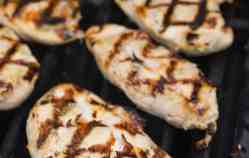 Grilled Boneless Chicken Breasts with Citrus Marinade