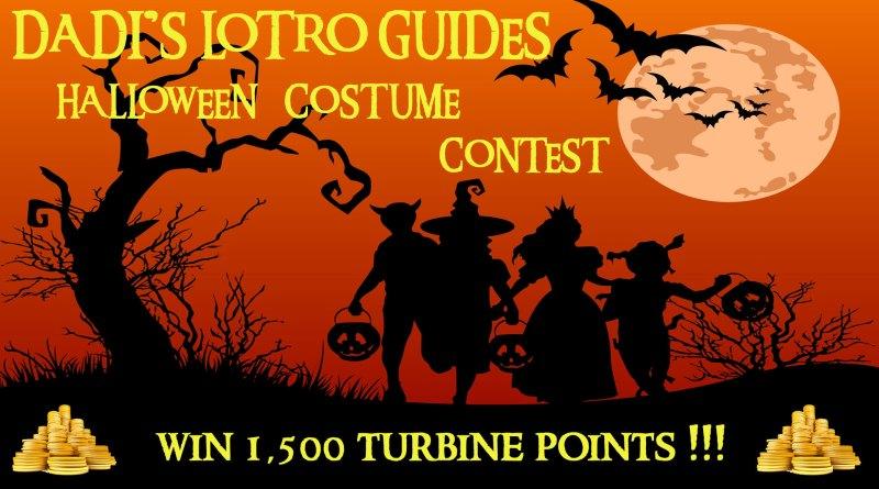 Dadi's LOTRO Guides – Halloween Contest !!!