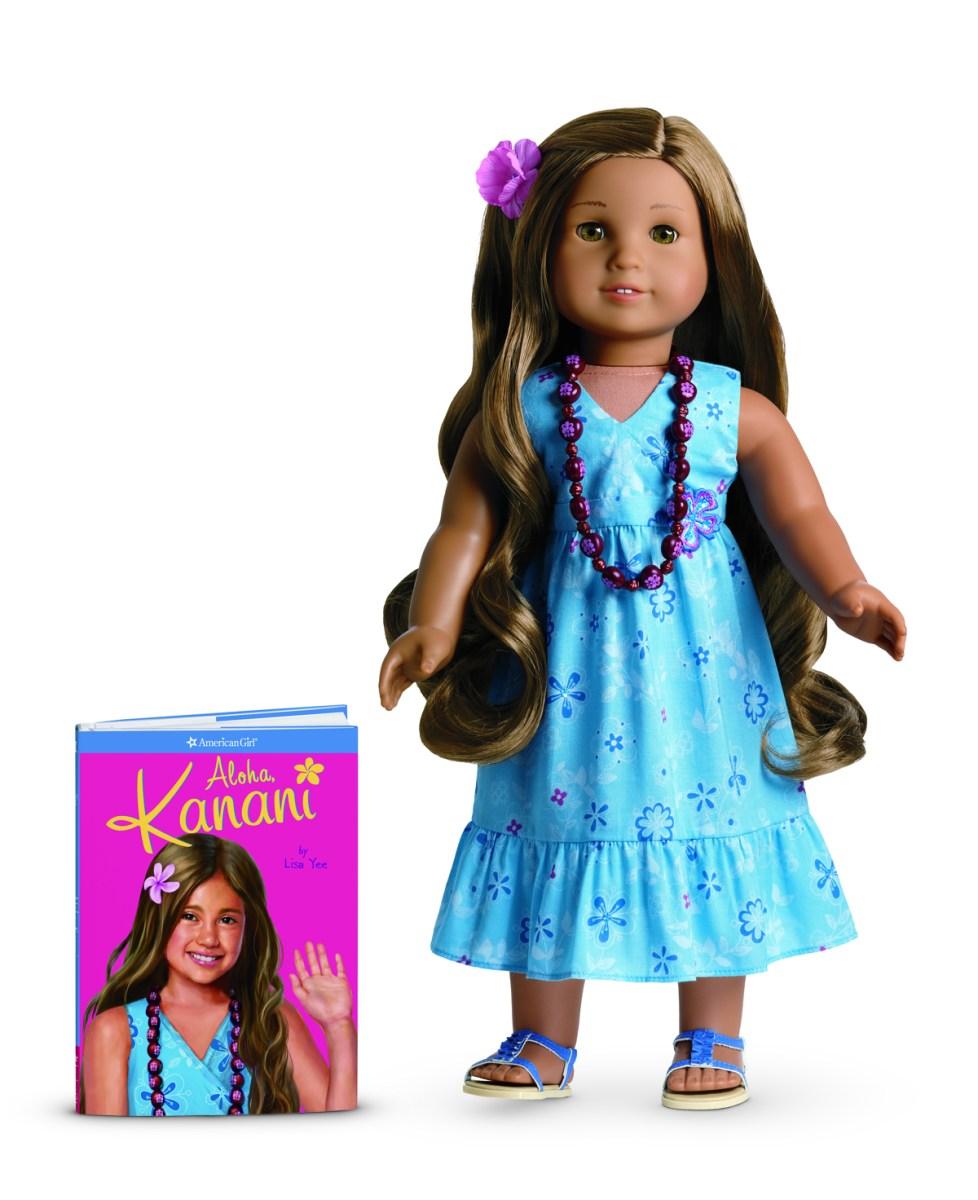 ALOHA, KANANI! AMERICAN GIRL'S 2011 GIRL OF THE YEAR HAILS FROM HAWAI'I!