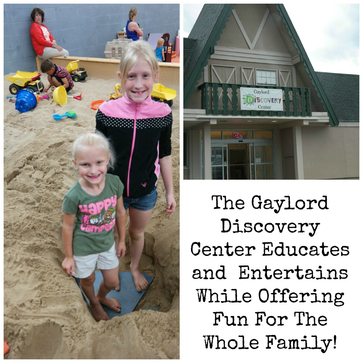 The Gaylord Discovery Center Educates and Entertains! #Dadchat