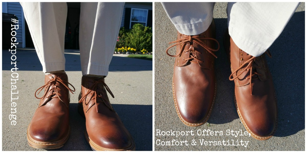 Rockport Offers Style, Comfort & Versatility For A Great Guys Night Out #RockportChallenge