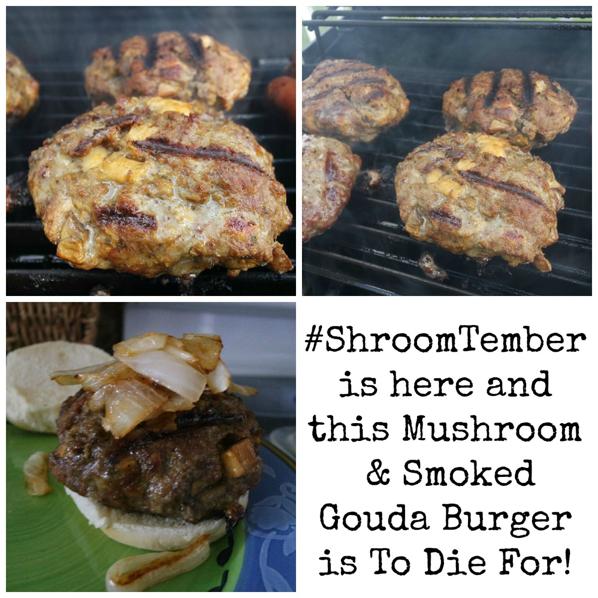 Creating the Ultimate Burger Using Mushrooms! #shroomtember
