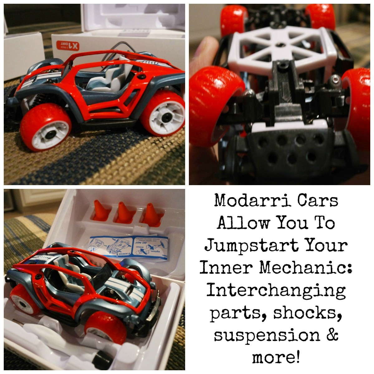 Jumpstart Your Inner Mechanic With Cool Modarri Cars! #dadchat #Giveaway