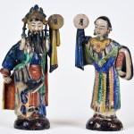 Chinese Shiwan Figures