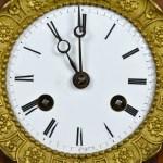 Lyre Clock 10