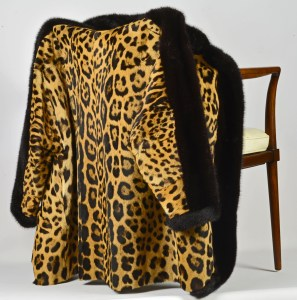 Leopard Mink Jacket
