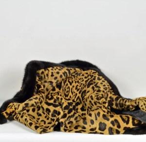 Leopard Mink Jacket 5