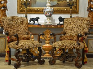 Pair of Baroque Chairs