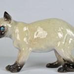 Glazed Terracotta Cat 3