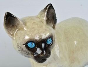 Glazed Terracotta Cat 7