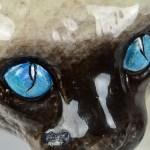 Glazed Terracotta Cat 8
