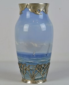 Royal Copenhagen Sterling Vase 3