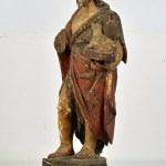 Saint with Lamb 2