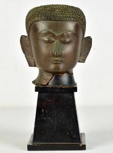 Ancient Buddha Head Fragment