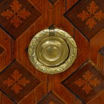 Pair Marquetry 8