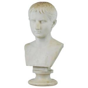 octavian-marble-bust