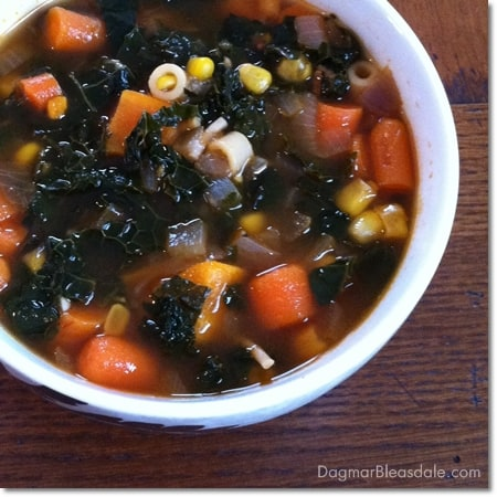 vegetable soup with kale