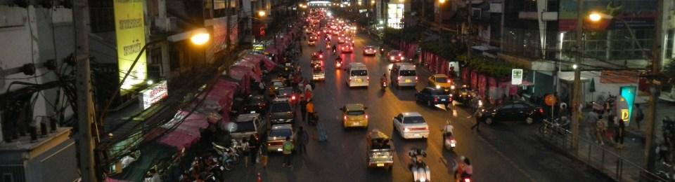 Bangkok Hustle- cheap beer, sticky rice and the odd grenade