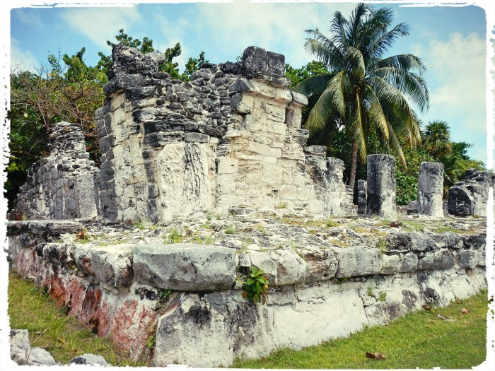 Cozumel Mayan ruins. Yeah i know its just a pile of rocks, really.