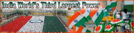 India World's Third Largest Power