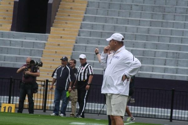 LSU Coach Les Miles