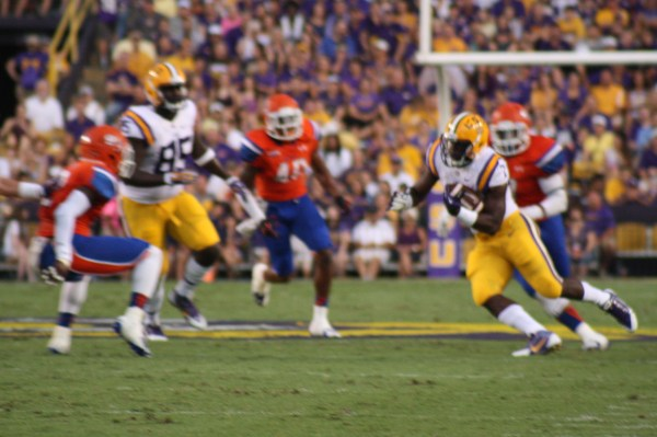 RB Fournette is cutting back