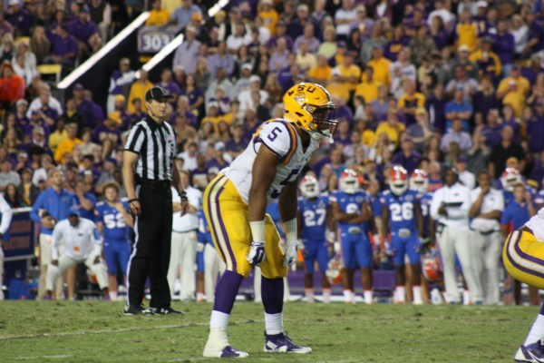 LSU backup rb Geice not alot of touches for the Florida Game, expect to see more of him vs W. Kentucky.