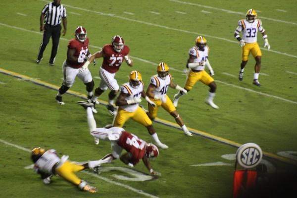 LSU Donte Jackson makes a big play
