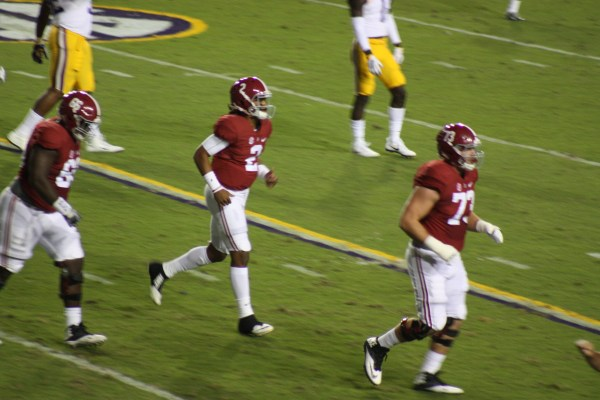 3 and out for Bama