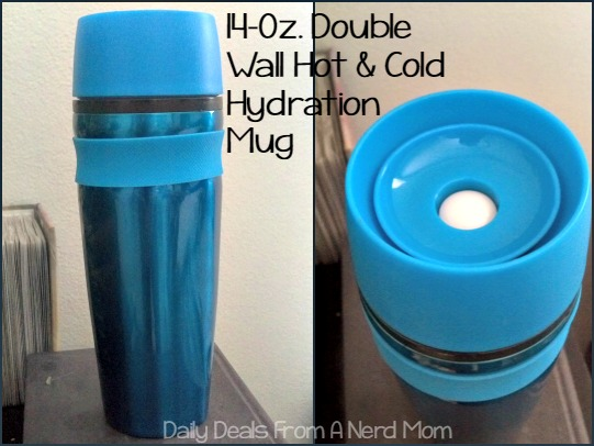 14-Ounce Double Wall Hot & Cold Hydration Mug