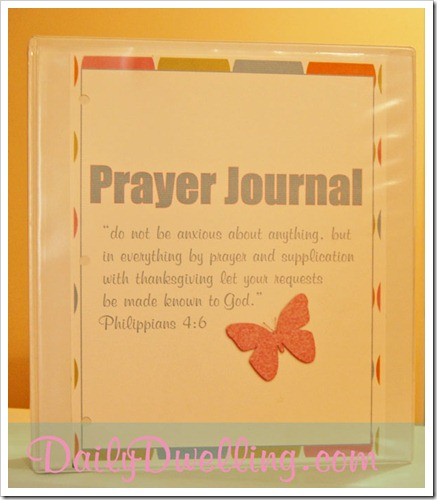 prayer-journal-binder