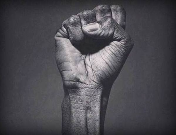 black power fist, how to effect social change as a black person