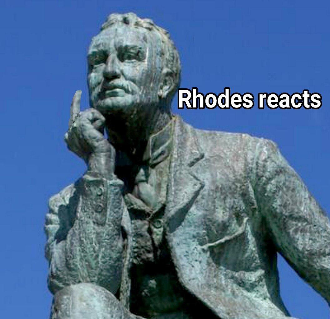 Rhodes reacts